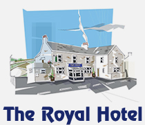 Menus for the Royal Hotel in Dungworth, Sheffield